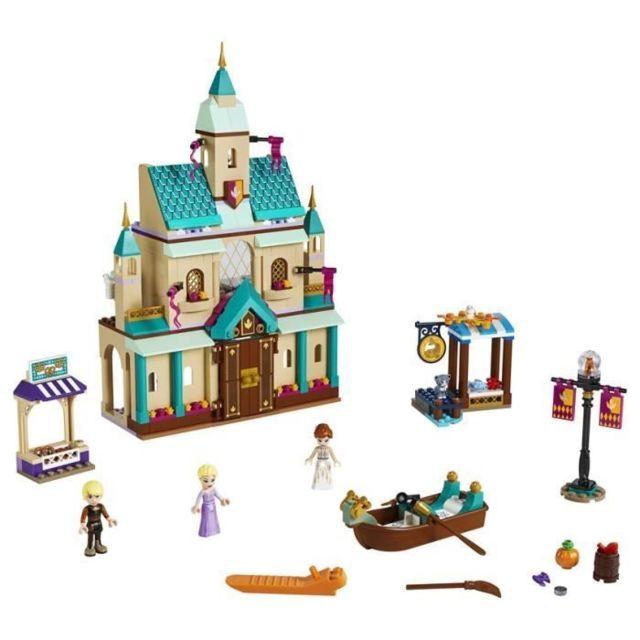 Icaverne JEU D'ASSEMBLAGE - JEU DE CONSTRUCTION - JEU DE MANIPULATION l Disney La Reine des Neiges 41167 - Le château d'