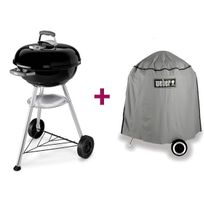 Weber - Barbecue Compact Kettle 47 cm + Housse