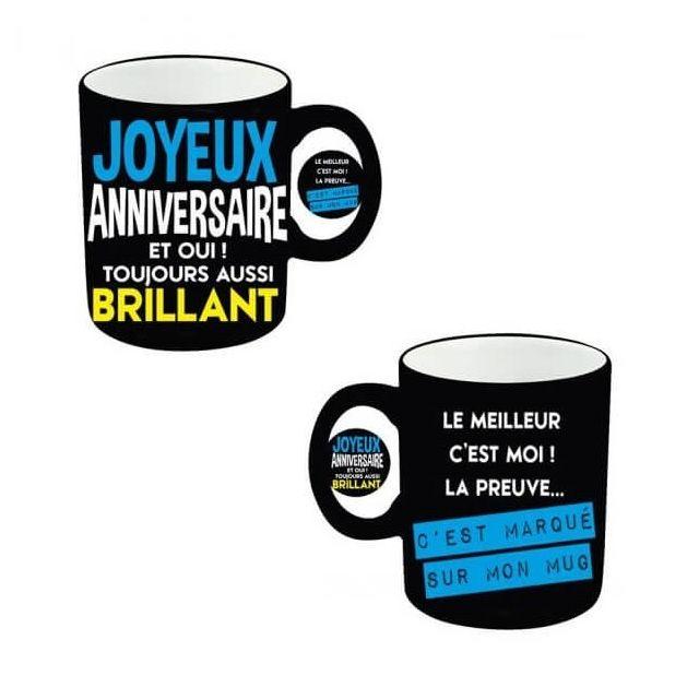Surprisez Vous Cadeau Mug Joyeux Anniversaire Homme X1 Ref