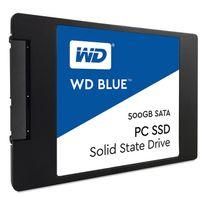 WESTERN DIGITAL - SSD interne WD Blue 500 Go 2,5'' SATA III 6 Gbits/s