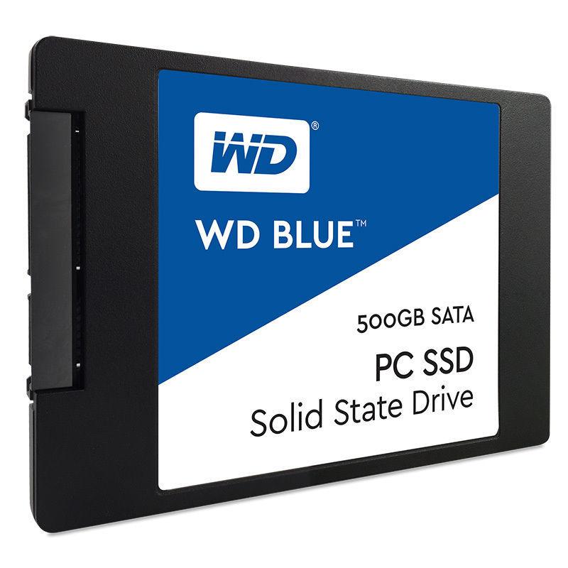 SSD interne WD Blue 500 Go 2,5'' SATA III 6 Gbits/s