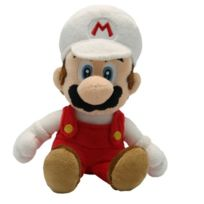 Together - Pelnin004 - Peluche - Nintendo - Mario Bross Wii Plush - Fire Mario - 20 Cm