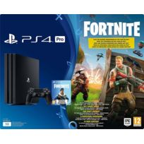 Console PS4 PRO B Black 1 To + Fortnite Voucher