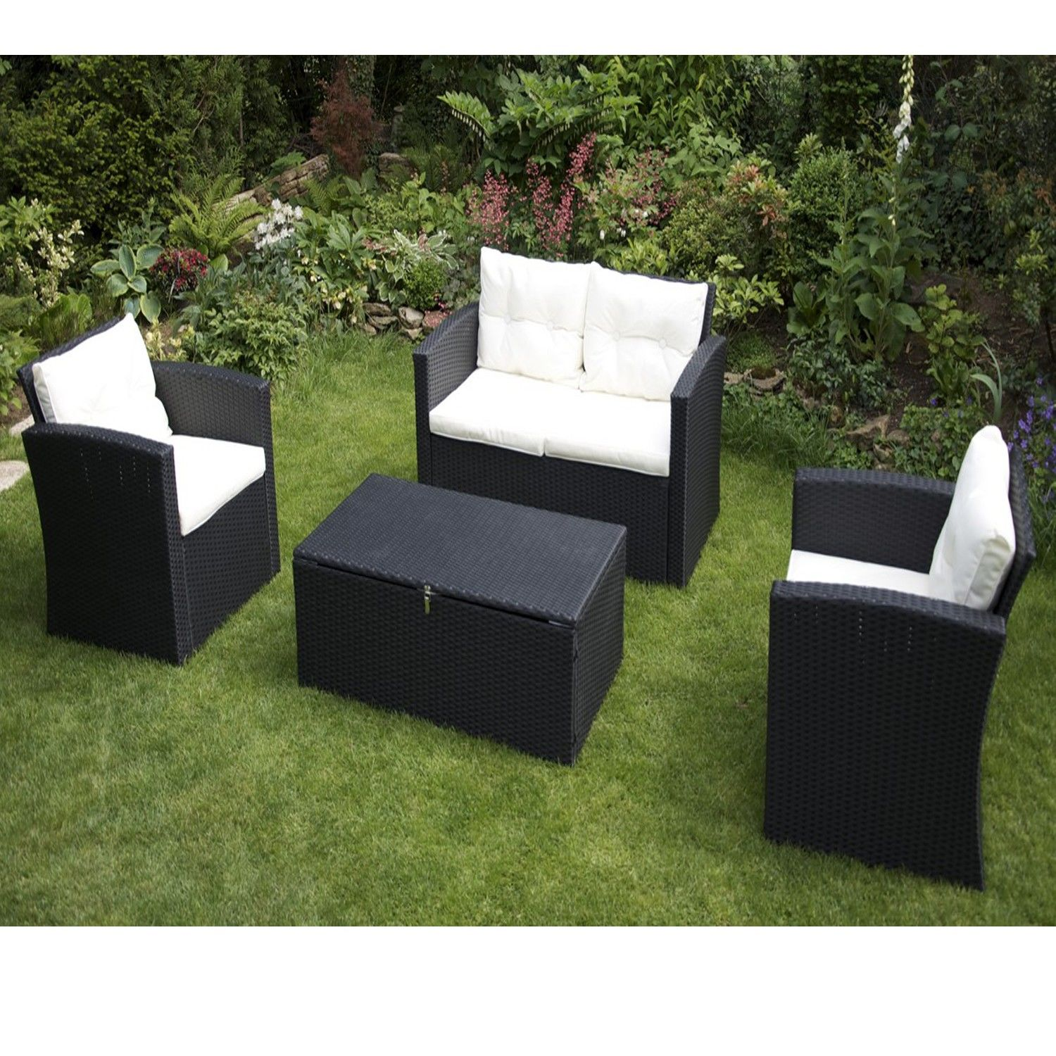 best salon de jardin alu delamaison contemporary amazing house design. Black Bedroom Furniture Sets. Home Design Ideas
