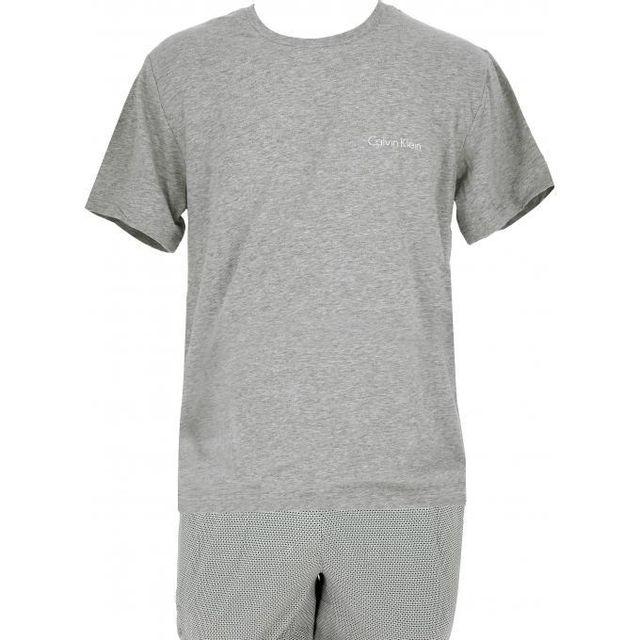 1dfc3f8a55d Calvin Klein - Set Pyjama T-shirt   Bermuda Underwear - pas cher ...