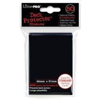Ultra Pro - Protèges Cartes Sleeves Ultra-pro Noir - Asmodee