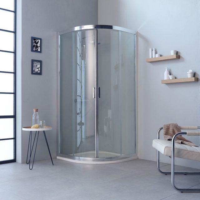 kiamami valentina cabine de douche moderne angulaire profiles en aluminium 80x80 transparent. Black Bedroom Furniture Sets. Home Design Ideas