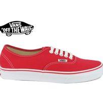 Vans - Authentic Rouge