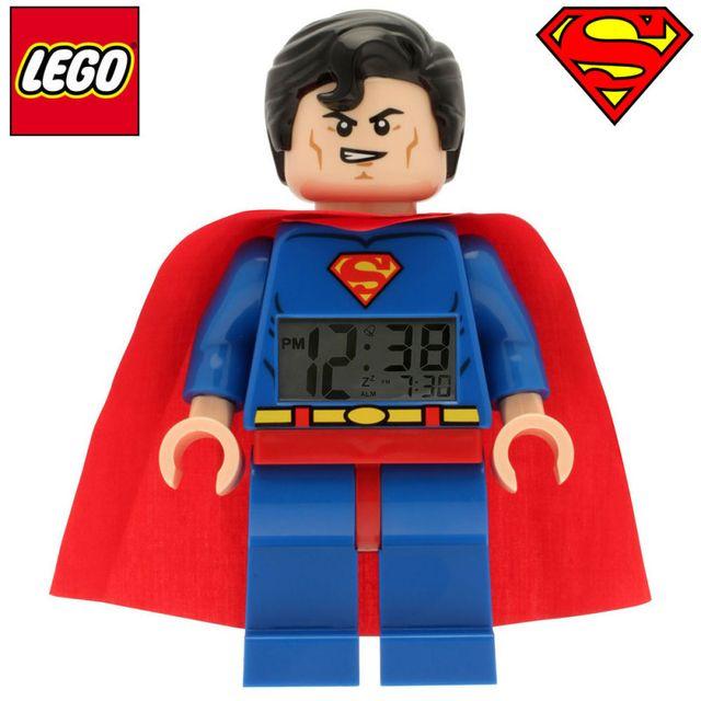 Kas Design Réveil Lego Super-Héros Superman