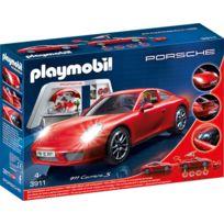 PLAYMOBIL - Atelier avec Porsche 911 Carrera S - 3911