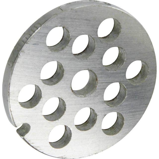 Reber Grille inox Pour hachoir électrique ou manuel n°5 Trou 8mm