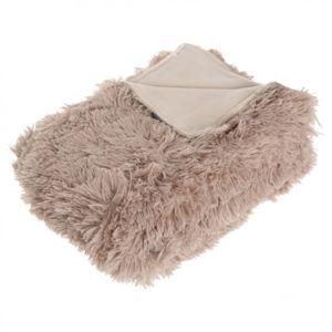 soldes paris prix plaid long imitation fourrure. Black Bedroom Furniture Sets. Home Design Ideas