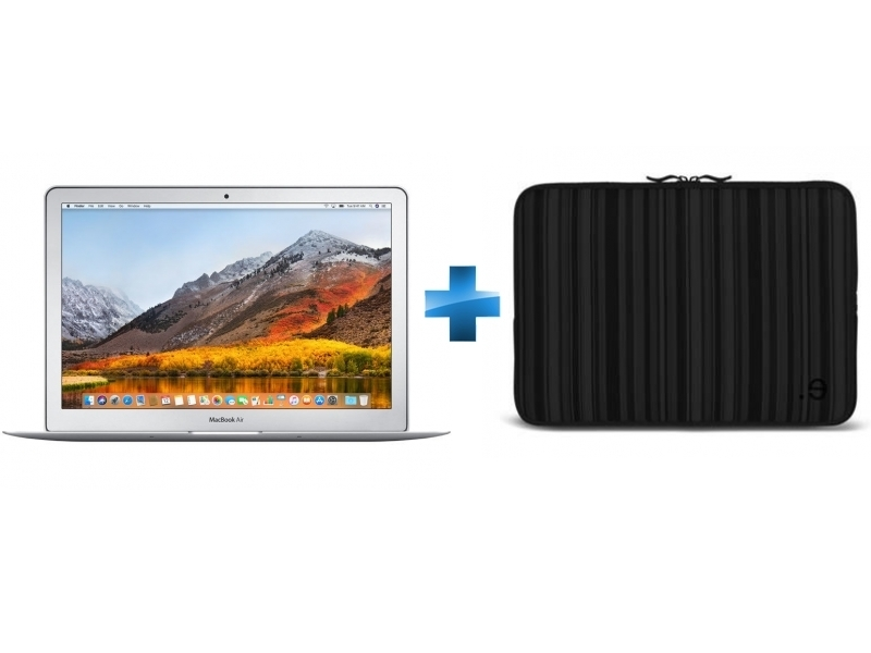 MacBook Air 13 - 128 Go - MQD32FN/A - Argent + LA robe Allure Black MacBook Air 13