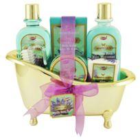Gloss - Coffret cadeau coffret de bain femme senteur raffinée de lys - 6pcs