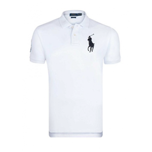 Ralph Lauren - Polo Blanc Custom-fit Big Poney