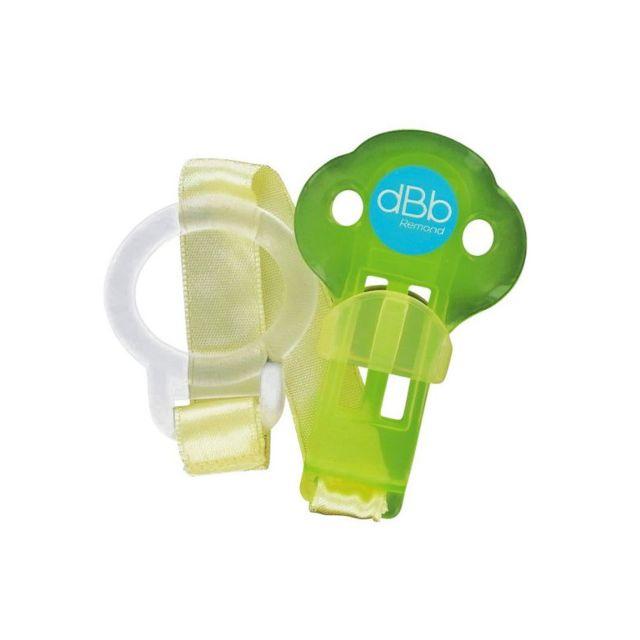 dBb Remond Attache Sucette Forme Coccinelle Vert