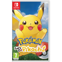 Pokémon : Let's Go, Pikachu - Jeu Switch