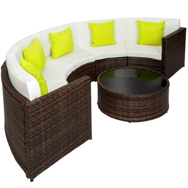 helloshop26 salon de jardin rotin r sine tress. Black Bedroom Furniture Sets. Home Design Ideas