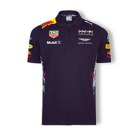 Red Bull - Polo Team bleu pour homme taille S