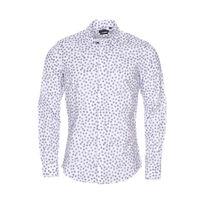 e9d0a8fb9e3d Antony Morato - Chemise cintrée en coton blanc à motifs pissenlits noirs
