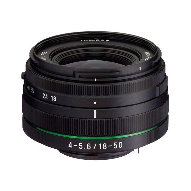 Pentax Objectif 18-50 mm f/4-5.6 Da-l Dc Wr Re Noir