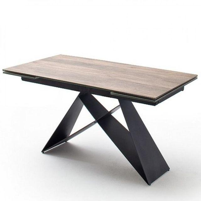 Inside 75 Table Repas Extensible Design Konan Plateau Ceramique
