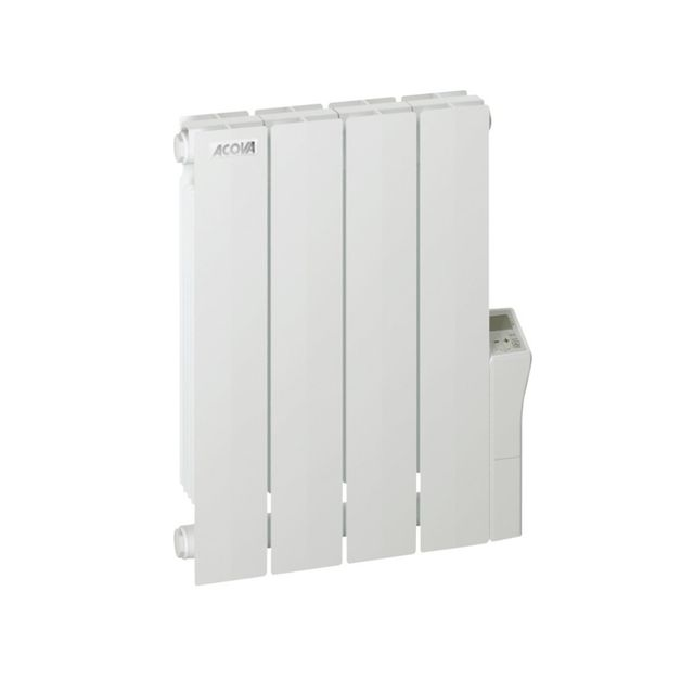 acova radiateur lectrique inertie fluide cotona lcd 750 w vendu par rueducommerce 175599. Black Bedroom Furniture Sets. Home Design Ideas