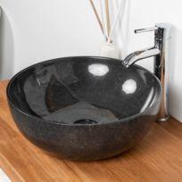 Vasque noire - Achat Vasque noire pas cher - Rue du Commerce