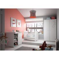 Chambre Complete Bebe Gami Adele Lit bébé 60x120 cm