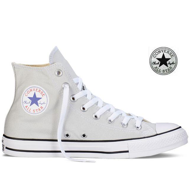 Converse All Star Hi Chuck Taylor Gris souris 151170C 36