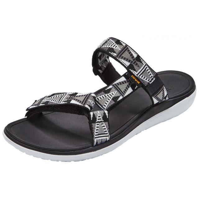 9894e7a1d61 Teva - Terra-Float Lexi - Sandales Femme - gris noir 36 - pas cher Achat   Vente  Sandales de marche - RueDuCommerce