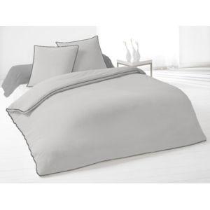harmony taie d 39 oreiller epure 50x70 cm souris granit. Black Bedroom Furniture Sets. Home Design Ideas