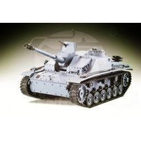Heng-Long - Char German Stug III 1/16 RTR 2.4Ghz Sons/Fumée/billes