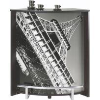 Bonareva - Comptoir de bar - Paris - Tour Eiffel - Noir