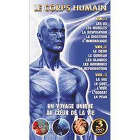 Hk - L'encyclopédie Du Corps Humain - 3 Dvd - Un Voyage Unique Au Coeur de la Vie Dvd