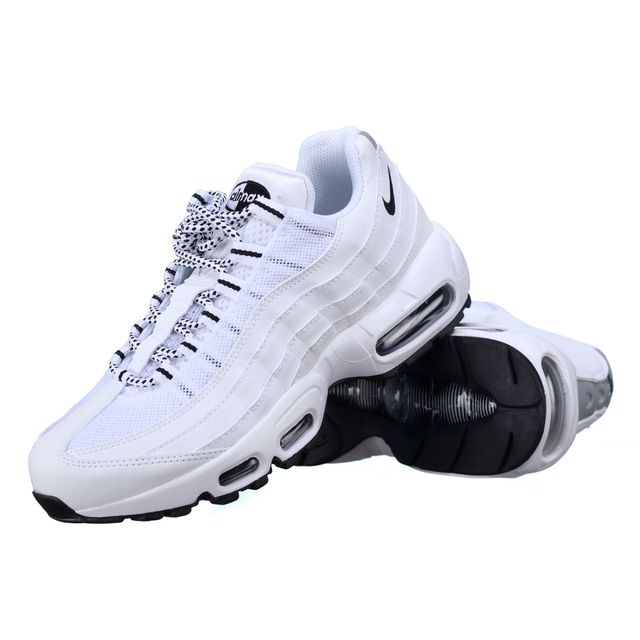 buy online 9b77f c440f Nike Basket Basket Basket Air Max 95 609048 109 Blanc pas cher Achaente  39c89c