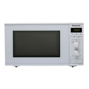 panasonic micro ondes 20l 800w blanc nn s251wmepg. Black Bedroom Furniture Sets. Home Design Ideas