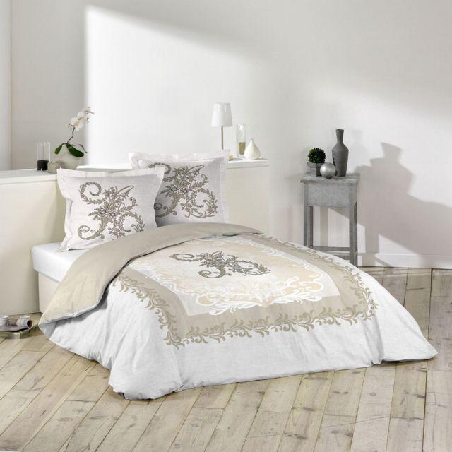 soldes sans marque housse de couette 240 x 260 cm taies antoinette multicolor nc pas. Black Bedroom Furniture Sets. Home Design Ideas