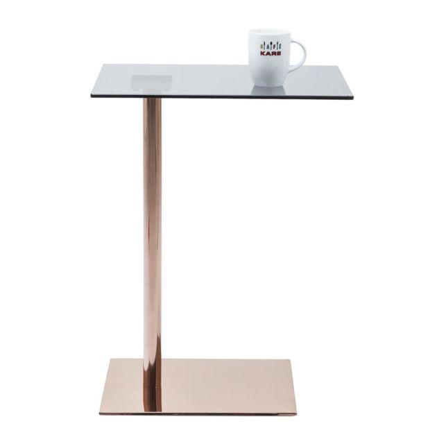 Karedesign Table d appoint West Coast cuivre Kare Design