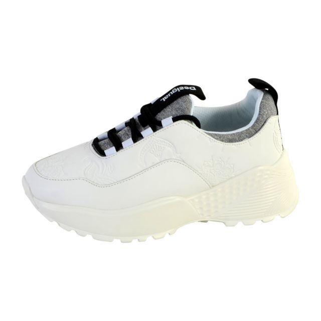 6b0cddd7dd9 Desigual - Basket Chunky Sneaker - pas cher Achat   Vente Baskets femme -  RueDuCommerce