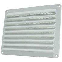Dmo - Grille plastique extérieure en applique à visser 230 x 80 mm