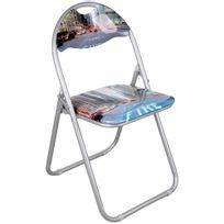 chaise bureau new york achat chaise bureau new york pas cher rue du commerce. Black Bedroom Furniture Sets. Home Design Ideas