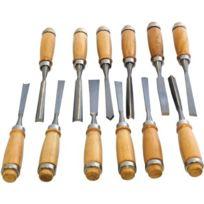 Amtech - Am-Tech Lot de 12 ciseaux à bois