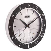 Balance - Horloge murale 30 cm Analogiques Aluminium / Noir