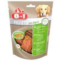 8IN1 - Friandises Filets Poulet Pro Digest S pour Petit Chien