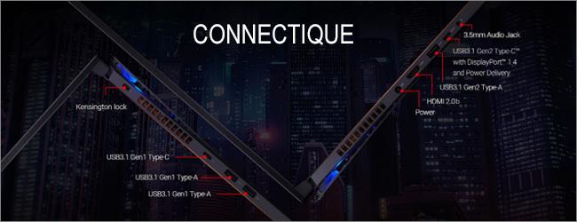 Réseau et connectique