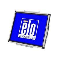 Elo TouchSystems - Elo 1537L - Écran Lcd - 15'' - open frame - 1024 x 768 - 200 cd m2 - 500:1 - 14.5 ms - Vga - noir, acier