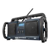 Perfect Pro - Radio de chantier 2 x 10W Mp3, système Atp de protection, bluetooth Workstation 2