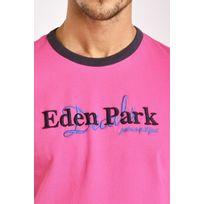Eden Park - Tee-shirt manches courtes Décalé