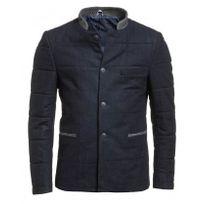 BLZ Jeans - Veste blazer homme bleu navy chic hiver matelassée